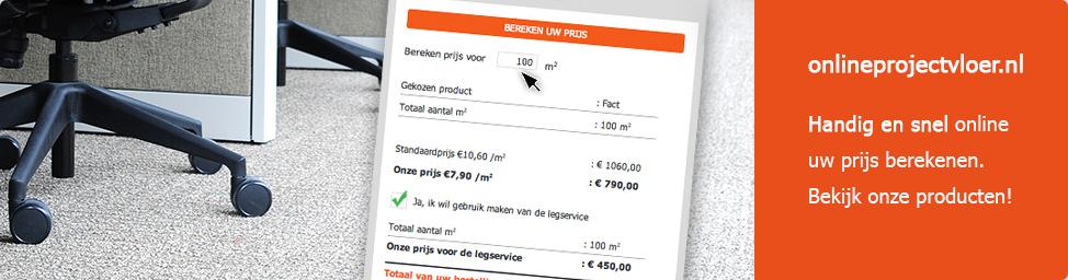 Handig en snel online uw prijs berekenen